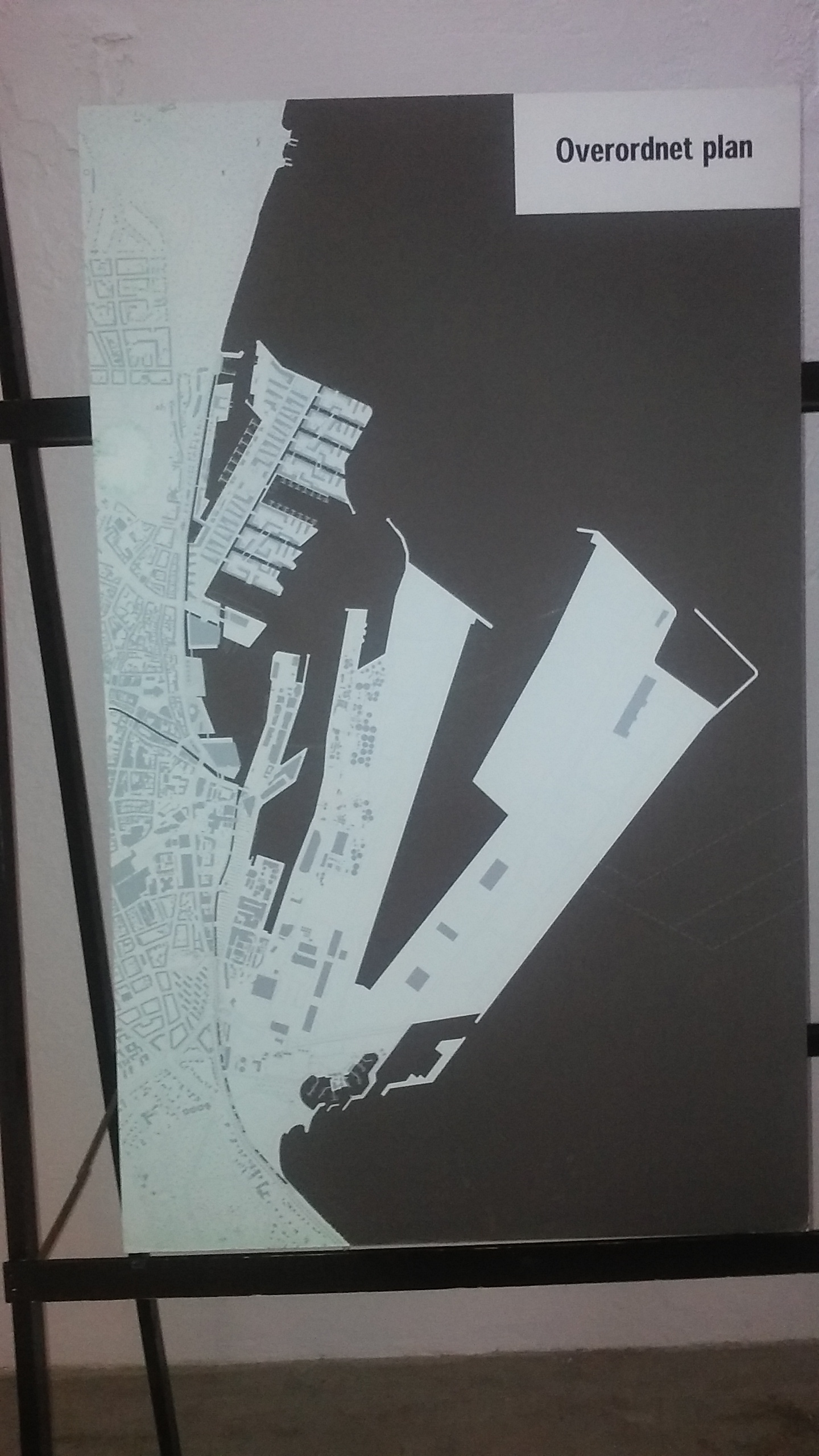 Aarhus Ø: detailed plan.
